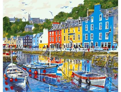 Купить Картина по номерам ArtStory Рыбацкая набережная AS0252 40 х 50 см