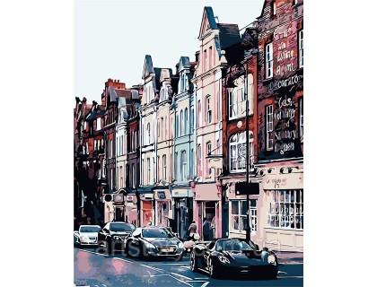 Купить Картина по номерам ArtStory Шумный город AS0254 40 х 50 см