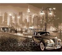 Картина по номерам ArtStory Ретро автомобиль AS0258 40 х 50 см