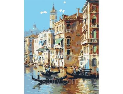 Купить Картина по номерам ArtStory Манящая Венеция AS0259 40 х 50 см