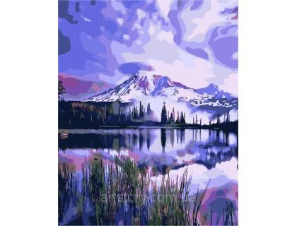 Купить Картина по номерам ArtStory Альпийское озеро AS0261 40 х 50 см