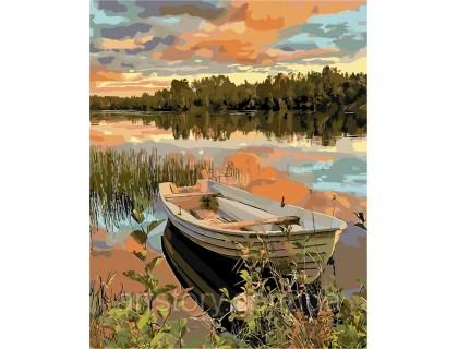 Купить Картина по номерам ArtStory Прекрасный закат AS0263 40 х 50 см