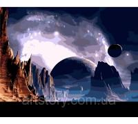 Картина по номерам ArtStory Другая планета AS0264 40 х 50 см