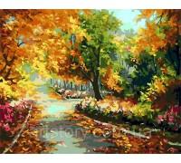 Картина по номерам ArtStory Золотая осень AS0265 40 х 50 см