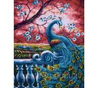 Картина по номерам ArtStory Загадочный павлин AS0268 40 х 50 см