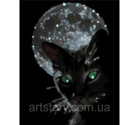 Картина по номерам ArtStory Ночной житель AS0277 40 х 50 см