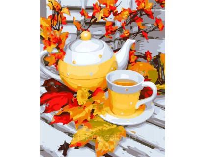 Купить Картина по номерам ArtStory Осенние краски AS0299 40 х 50 см