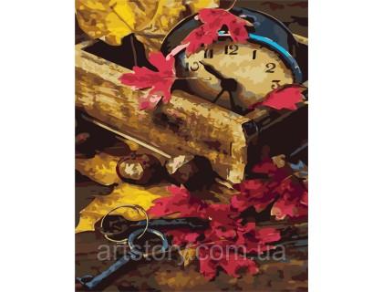 Купить Картина по номерам ArtStory Осеннее время  AS0300 40 х 50 см