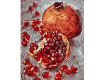 Купить Картина по номерам ArtStory Сочный гранат AS0302 40 х 50 см