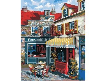 Купить Картина по номерам ArtStory Любимое кафе в городе AS0358 40 х 50 см