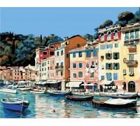Картина по номерам ArtStory Набережная Италии AS0373 40 х 50 см