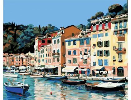 Купить Картина по номерам ArtStory Набережная Италии AS0373 40 х 50 см