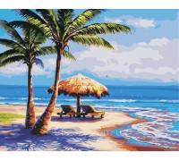 Картина по номерам ArtStory Отдых на море AS0385 40 х 50 см