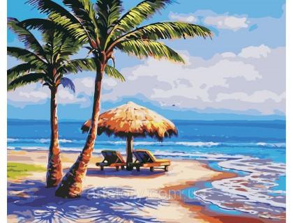 Купить Картина по номерам ArtStory Отдых на море AS0385 40 х 50 см