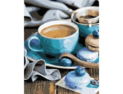 Купить Картина по номерам ArtStory Ароматный кофе AS0459 40 х 50 см