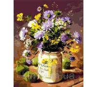 Картина по номерам ArtStory Полевые цветы AS0005 40 х 50 см