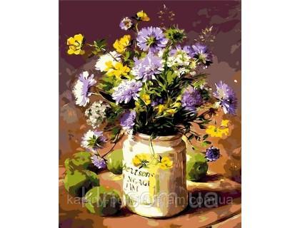 Купить Картина по номерам ArtStory Полевые цветы AS0005 40 х 50 см