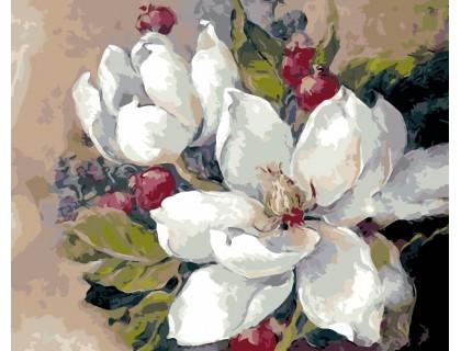 Купить Картина по номерам ArtStory Прекрасный цветок AS0113 40 х 50 см