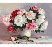 Картина по номерам ArtStory Нежные пионы AS0117 40 х 50 см