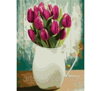 Картина по номерам ArtStory Ароматные тюльпаны AS0240 40 х 50 см
