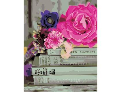Купить Картина по номерам ArtStory Любимые книги AS0331 40 х 50 см