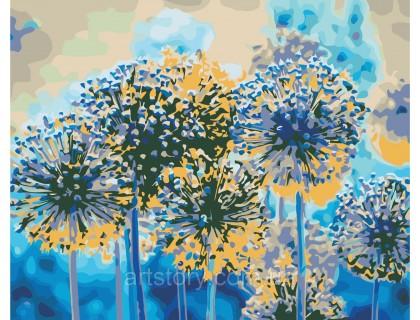 Купить Картина по номерам ArtStory Летние одуванчики AS0350 40 х 50 см