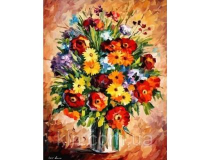 Купить Картина по номерам Идейка Яркие герберы 40 х 50 см (арт. КН2057)