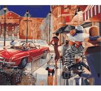 Картина по номерам Городской гламур КН2121 40 х 50 см