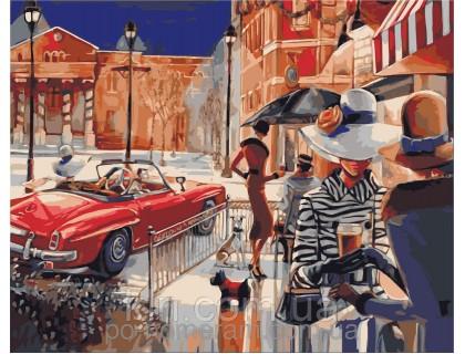 Купить Картина по номерам Городской гламур КН2121 40 х 50 см