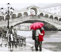 Картина по номерам ArtStory Прогулка по Венеции AS0044 40 х 50 см