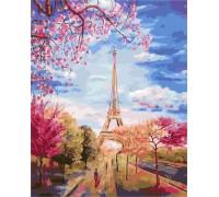 Картина по номерам ArtStory Весна в Париже AS0137 40 х 50 см