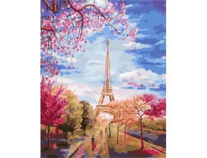 Купить Картина по номерам ArtStory Весна в Париже AS0137 40 х 50 см