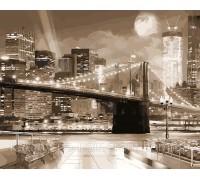Картина по номерам ArtStory Город в ночных огнях AS0078 40 х 50 см