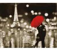 Картина по номерам ArtStory Любовь в Париже AS0047 40 х 50 см