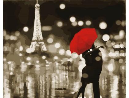 Купить Картина по номерам ArtStory Любовь в Париже AS0047 40 х 50 см