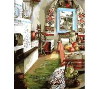 Картина по номерам ArtStory В гостях у бабушки AS0107 40 х 50 см