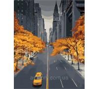 Картина по номерам ArtStory Осень в большом городе AS0255 40 х 50 см