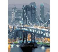 Картина по номерам ArtStory Бруклинский мост AS0361 40 х 50 см