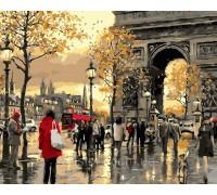 Картина по номерам ArtStory Осенние краски Франции AS0362 40 х 50 см