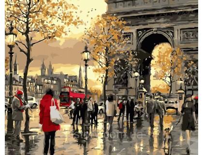 Купить Картина по номерам ArtStory Осенние краски Франции AS0362 40 х 50 см