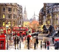 Картина по номерам ArtStory Типичный Лондон AS0363 40 х 50 см