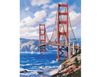 Купить Картина по номерам ArtStory Набережная Сан-Франциско AS0366 40 х 50 см