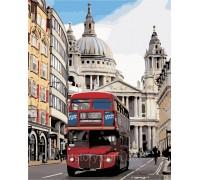 Картина по номерам ArtStory Лондонский автобус AS0368 40 х 50 см