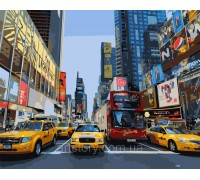 Картина по номерам ArtStory Жизнь большого города AS0376 40 х 50 см