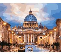 Картина по номерам ArtStory Собор Святого Петра AS0533 40 х 50 см