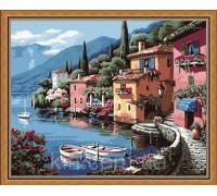Картина по номерам Идейка (КН103) Солнечная Италия 40 х 50 см