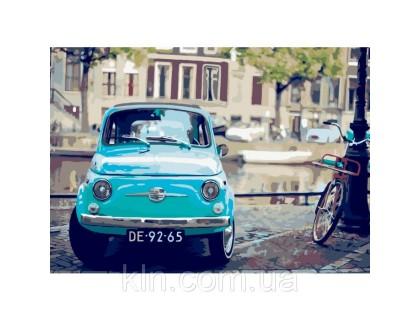 Купить Картина по номерам Идейка Моё любимое авто 35 х 50 см КН2156