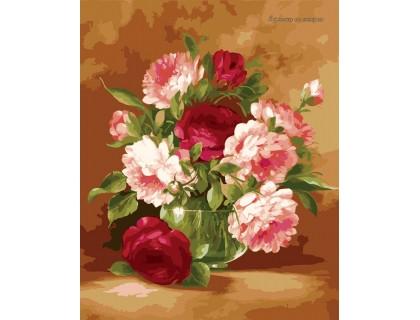 Купить Картина по номерам Идейка Праздничный букет KH1008 40 х 50 см