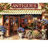 Картина по номерам Идейка КН113 Семейный магазинчик 40 х 50 см