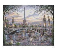 Картина по номерам Прекрасный Париж КН1148 40 х 50 см